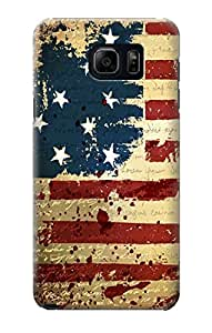 R2349 Old American Flag Case Cover For Samsung Galaxy Note 5