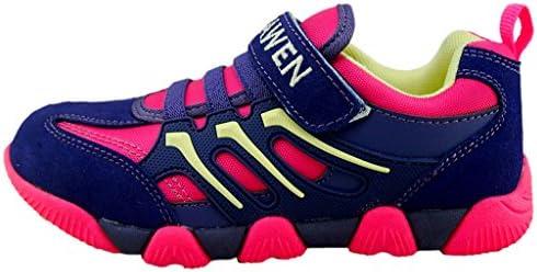 Toddler//Little Kid//Big Kid DADAWEN Kids Waterproof Hiking Shoes Outdoor Athletic Sneakers