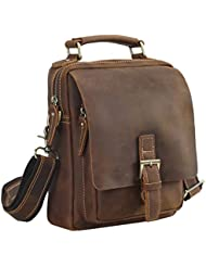 Polare Natural Cowhide Leather Travel Bag Chest Day Pack Cross Body Shoulder Bag