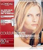 L'Oréal Paris Couleur Experte Hair Color + Hair Highlights, Medium Blonde - Toasted Coconut