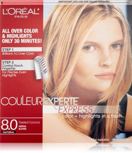 L'Oréal Paris Couleur Experte Hair Color + Hair Highlights, Medium Blonde - Toasted Coconut by L'Oreal Paris