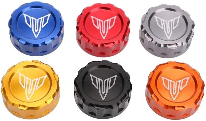 Color : Red Automotech Motorcycle Accessories Motorcycle Oil cup cover Brake Reservoir Cover Cap for YAMAHA MT09 MT07 MT03 R25 R3