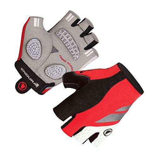 Endura Womens FS260-Pro Aerogel Mitt Cycling Glove Red, Small