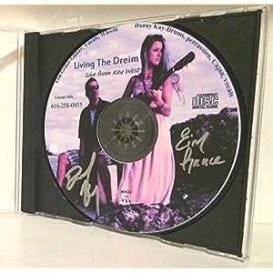 KEY WEST WEDDING CLUB RESORT FESTIVAL BAR BAND LIVE MUSIC CD LIVING THE DREIM SIGNED AUTOGRAPHED - 10 SONGS