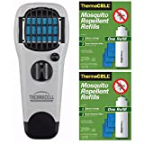 Thermacell MR-XJ Mosquito Repeller Appliance + 2 R-1 Refill Packs