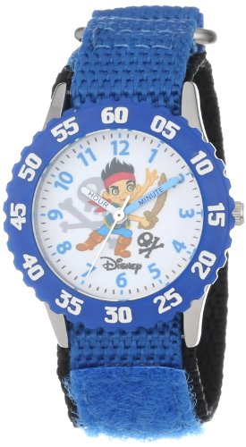 "Kids'  ""Time Teacher"" Jake and the Neverland Pirates Stainless Steel Watch - Disney W000381"