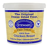 Pro-Treat Stewart Freeze Dried Chickenbreast Dog Treats, 1 Pack