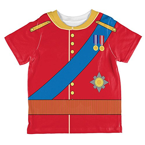 (Halloween Prince Charming William Costume All Over Toddler T Shirt Multi)