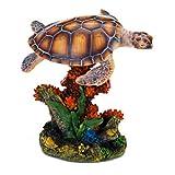Penn-Plax Swimming Sea Turtle Ornament