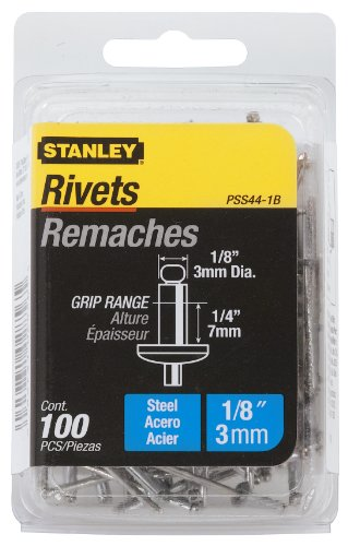 Stanley Pss44 1B Inch Steel Rivets