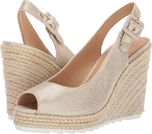 - Nine West Women's Zoey Gold 9.5 M US