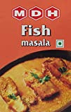 MDH Fish Curry Masala (Spice Blend for Fish Curry), 3.5-Ounce Boxes (Pack of 10)