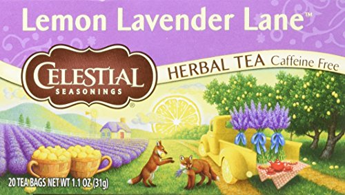 Celestial Seasonings Lemon Lavender Lane tea, Single Box 20 bags