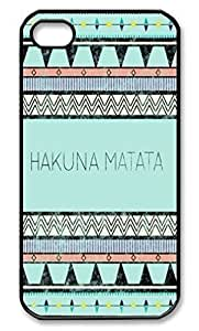 Pink Ladoo? Hakuna Matata Black Hard Cover Case for iPhone 5 5s case
