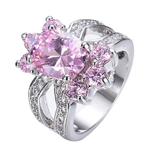 WOWJEW-Cute-Flower-Design-Pink-Ring-White-Gold-Ring-Vintage-Wedding-Rings-Bague-Femme