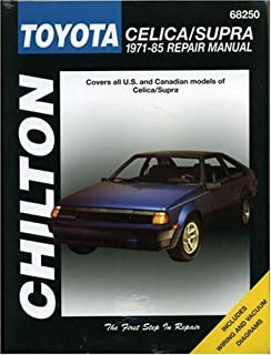 Toyota celica supra 1979 1992 haynes manuals john haynes mike toyota celica supra 1971 85 chiltons total car care repair manuals fandeluxe Gallery