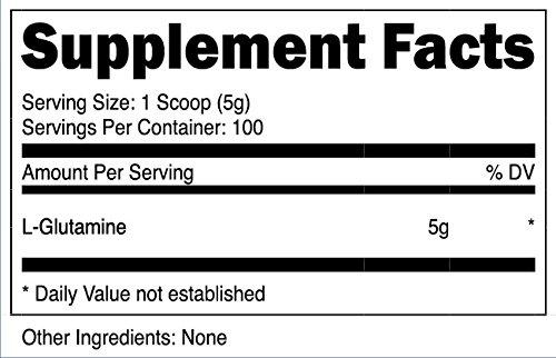 Nutricost Powder Grams Pure L Glutamine - 100
