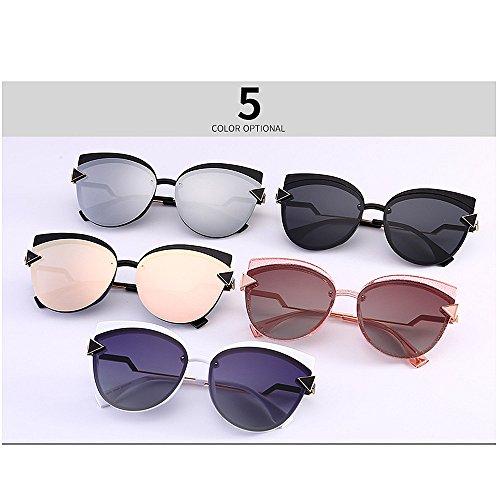Sol C5 para Gato Libre Exquisito Aire de Protección Color Playa Gu C3 la polarizadas Decoración UV Mujeres Peggy Ojos Triángulo para Vacaciones al Conducción Gafas de SzWfC