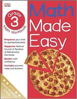 Math Made Easy: Third Grade Workbook (Math Made Easy): DK ...