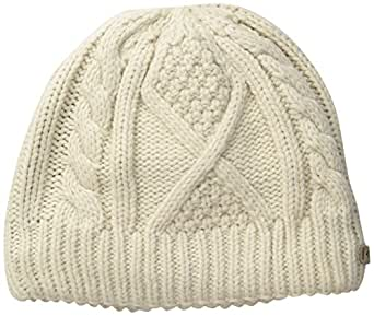 Columbia Women's Cabled Cutie Beanie, Chalk, O/S