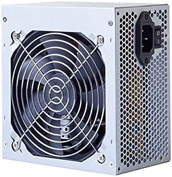 qtimber Fuente de Alimentación Hiditec PS00123599 ATX / BTX 500W #manufacturer # 10 x 21 x 16 cm: Amazon.es: Electrónica