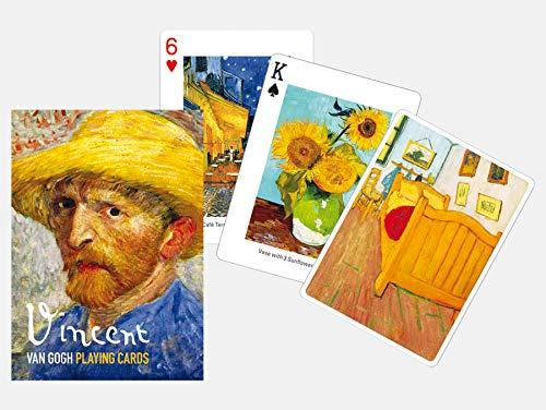 Cards Playing Deck Art - Piatnik Van Gogh Playing Cards - Single Deck Set