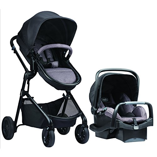 Evenflo Pivot Modular Travel System, Casual Gray