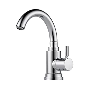 Brizo 61320LF-PC Euro Bar Faucet Single Handle Cold Water Only ...