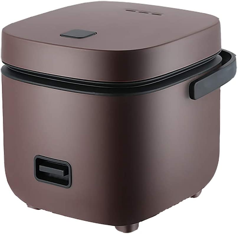 AURALLL Mini Electric Rice Cooker with Non-Stick Cooking Pot & One-Touch Operation BPA Free Plastic Perfect Rice in Minutes for One Or Two People - 1.7L
