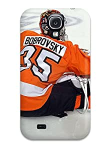 Premium Protection Philadelphia Flyers (61) Case Cover For Galaxy S4- Retail Packaging