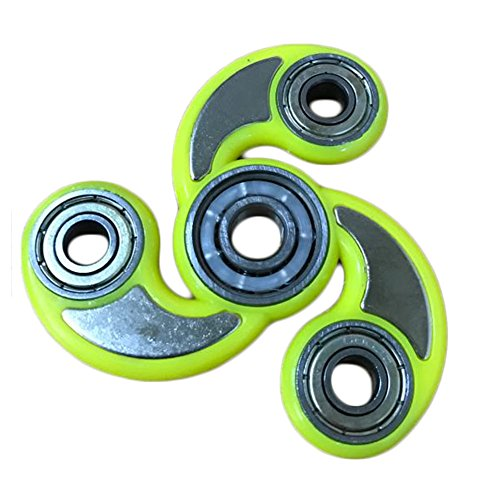 ANTI-SPINNER New Style Fidget Hand Spinner EDC Focus Anxiety Stress Relief Toy (9-Yellow)