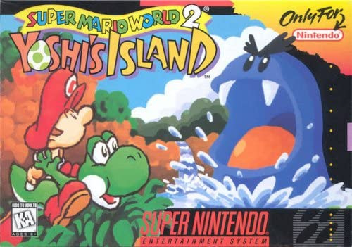 super mario world 2 yoshi s island snes Super Mario World 2: Yoshi's Island: Super Nintendo Entertainment S:  Computer and Video Games - Amazon.ca