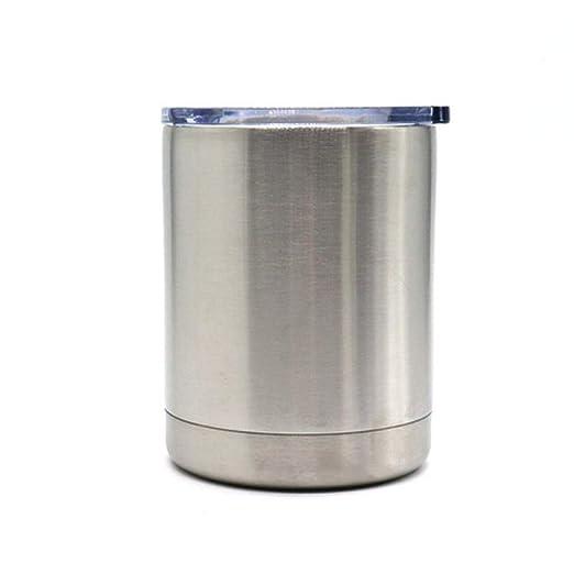 XHHGO Vasos de agua con aislamiento de acero inoxidable Cerveza ...