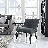 Modway Royal Fabric Armchair, Gray