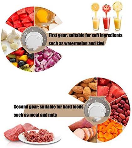 Multi-Function fruits et légumes Juicer Trois Coupes et trois couteaux 400W Contrôle Trois Cuivre Moteur Vitesse machine de cuisson des ménages ggsm