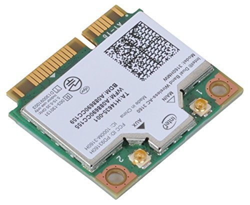 intel dual band wireless ac 3160 - 4