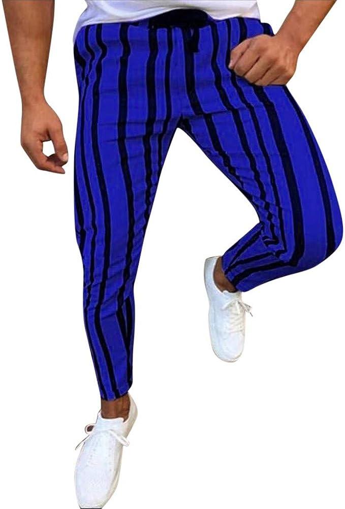 Etecredpow Boys Sweatpants Comfort Striped Athletic Jogger Slim Fit Pants