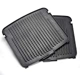 UsKitchen Reversible Grill/Griddle Plates for