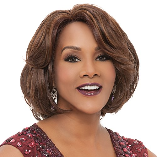 Vivica A. Fox GAIL New Futura Fiber, PS Cap Wig in Color P42730 ()