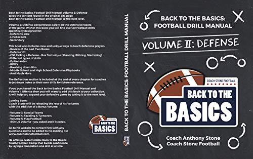 Back to the Basics: Football Drill Manual Volume 2: Defense 2 Back To Basics Basic