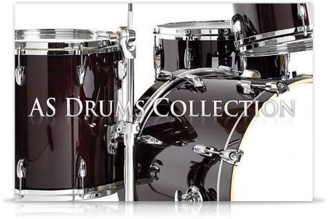 AS Drums Collection -ドラム音源-B00HU4TXFW