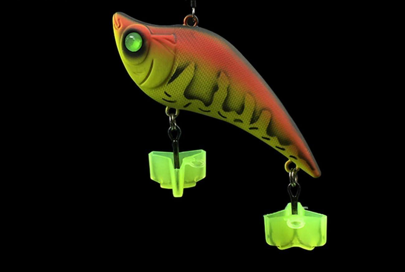 20pcs Fishing Cover Bonnets Set Fishing Lure Bait Treble Hook Holder Protector M
