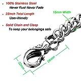 Skeleton Punk Wallet Chain,Wallet Long Purse Key
