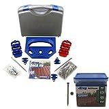Kreg KJDECKSYS Pocket Hole Jig System Kit with Bonus 700 #8 Deck Screws Free!