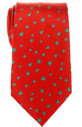 Stars Various Colors Microfiber With Retreez Classic Stars Men's Red Tie Necktie Woven Green 64w5fTq