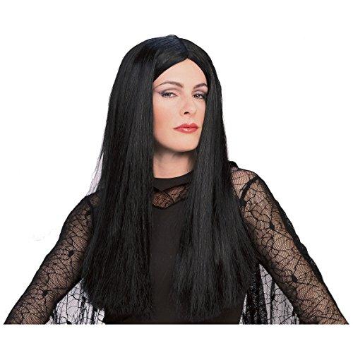 morticia wig fancy dress - 9