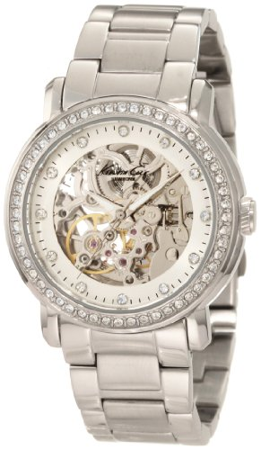 Kenneth Cole New York KC4824 Automatic Triple Silver Automatic Ladies Watch