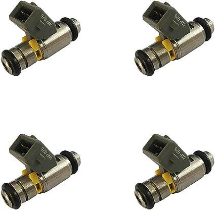 LvMyShe Inyectores de combustible for 1996-2006 Volkswagen Bora ...