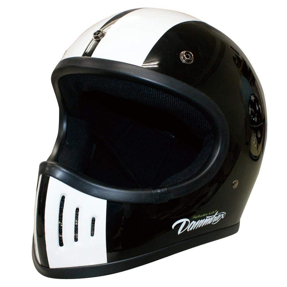 ダムトラックス(DAMMTRAX) バイクヘルメット THE BLASTER COBRA-改 BLACK L スポーツアウトドア カー自転車 ab1-1281427-ak [並行輸入品] B07P1T48WC