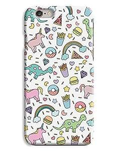 Donuts & Dinosaur Kids Design iphone 5s Hard Case Cover